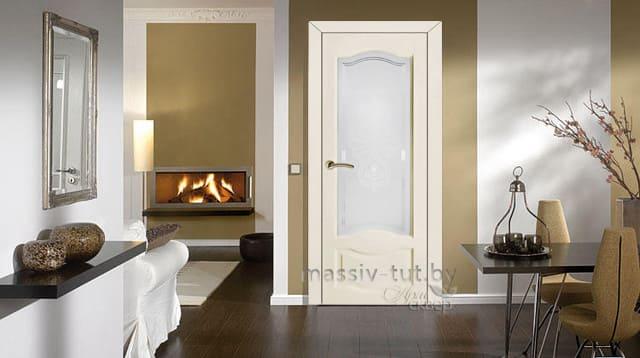 м33 дверь остекленная ПМЦ интерьер