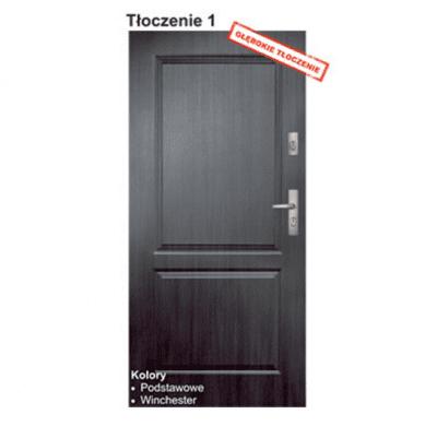 """Двери входные KMT Classic """"Тиснение 1"""""""