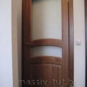 м16 остекленная дверь межкомнатная ПМЦ коньяк
