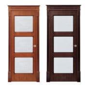м17 дверь межкомнатная Поставы остекленная