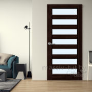 м18 межкомнатная дверь ПМЦ в интерьере