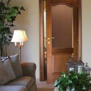 м4 дверь межкомнатная ПМЦ в интерьере 10% орех