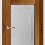 м55-2 остекленная дверь межкомнатная ПМЦ коньяк