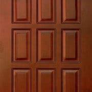 м6 дверь глухая ПМЦ коньяк