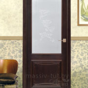 м6-2 дверь остекленная ПМЦ в интерьере