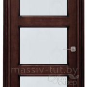 м6-3 ПМЦ дверь межкомнатная остекленная венге