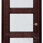 ол6-3 ПМЦ дверь межкомнатная остекленная венге