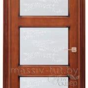 ол6-3 ПМЦ дверь межкомнатная остекленная коньяк