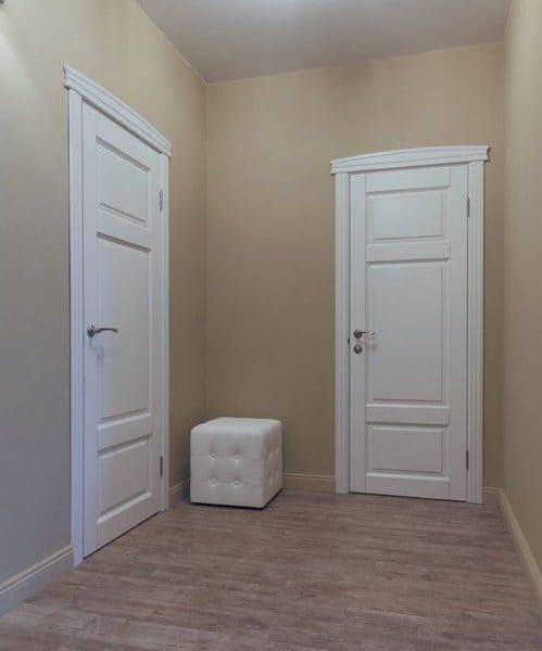 Дверь Д55-глухая, массив дуба, ПМЦ.