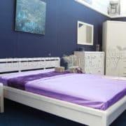 Кровать Мадейра Д8146, АртСквер, массив, мебель 1