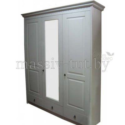 """Шкаф 3-хдверный """"Боцен"""" Д7183-1 из массива сосны"""
