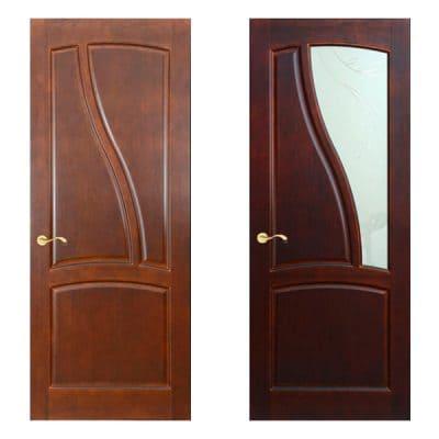 Wave дверь из массива сосны