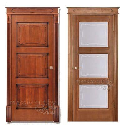 Vario 2 дверь из массива сосны