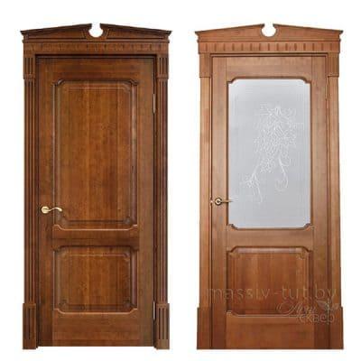 Vario 3 дверь из массива сосны
