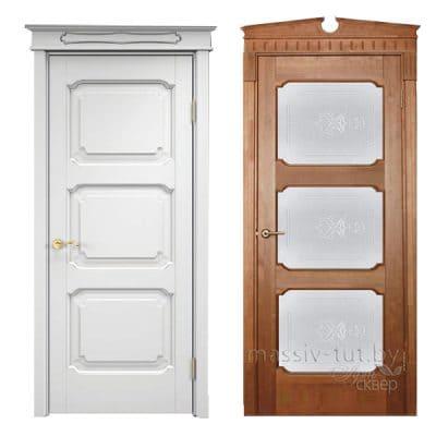 Vario 4 дверь из массива сосны