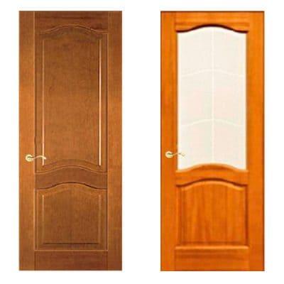 Vintage дверь из массива сосны