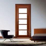 м9 остекленная дверь Поставы в интерьере