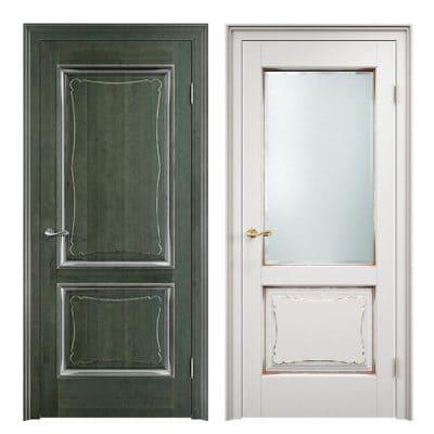 Vario 1 дверь из массива сосны