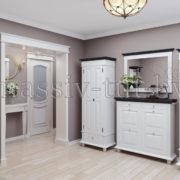 Вешалка Стокгольм Д7113-4, АртСквер, массив, мебель 3