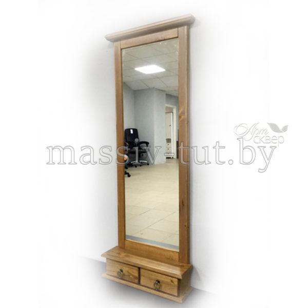 Зеркало Ленни Д7110-2, АртСквер, массив, мебель