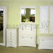 Зеркало Неаполь Д 7111-07, АртСквер, массив, мебель 3