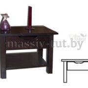 Комод  прикроватный Париж Д2258, АртСквер, массив, мебель (2)