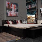Комод  прикроватный Париж Д2258, АртСквер, массив, мебель (3)