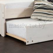 Кровать Бонни Д8182, АртСквер, массив, мебель 2