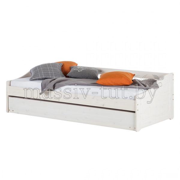 Кровать Бонни Д8182, АртСквер, массив, мебель