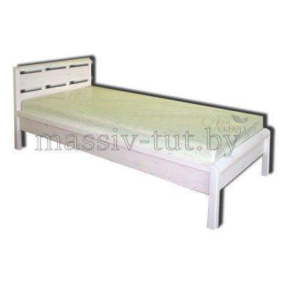 """Кровать """"Мадейра"""" Д8143 (90*200) из массива сосны"""