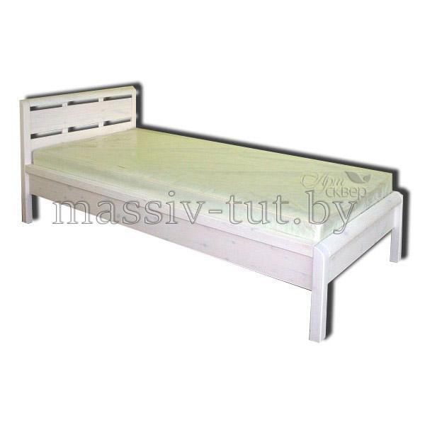 Кровать Мадейра Д8143, АртСквер, массив, мебель