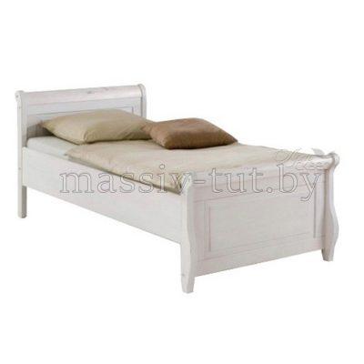 """Кровать """"Мальта"""" 100*200 без ящика из массива сосны"""