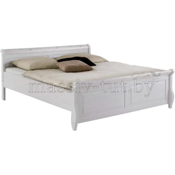 Кровать Мальта 140 без ящика, АртСквер, массив, мебель