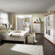 Кровать Мальта 140 с ящиками, АртСквер, массив, мебель 4