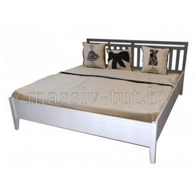 """Кровать """"Саргас"""" Д7146-10 (160*200) из массива сосны"""