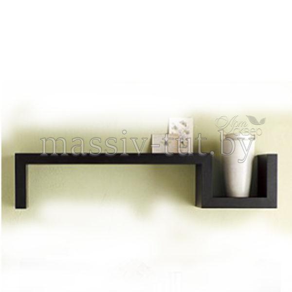 Полка Париж Д3423, АртСквер, массив, мебель