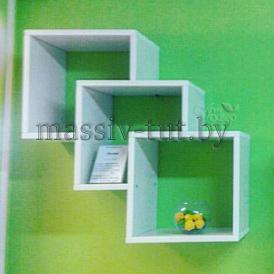 Полка-5 Д3403, АртСквер, массив, мебель
