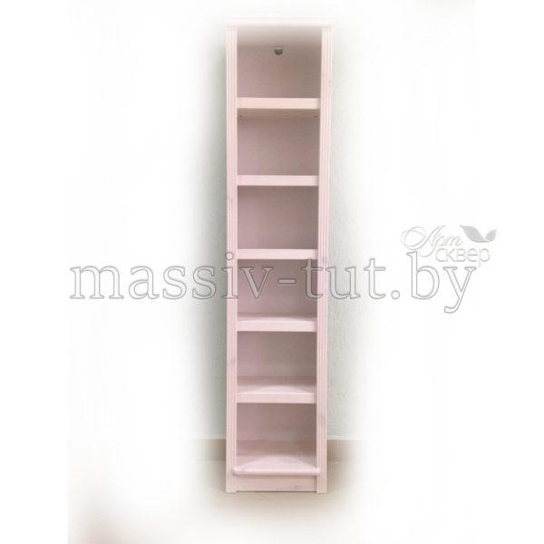 Стеллаж Д7178-1, АртСквер, массив сосны, мебель