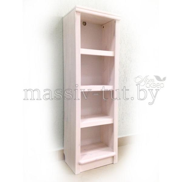 Стеллаж Д7178-3, АртСквер, массив сосны, мебель