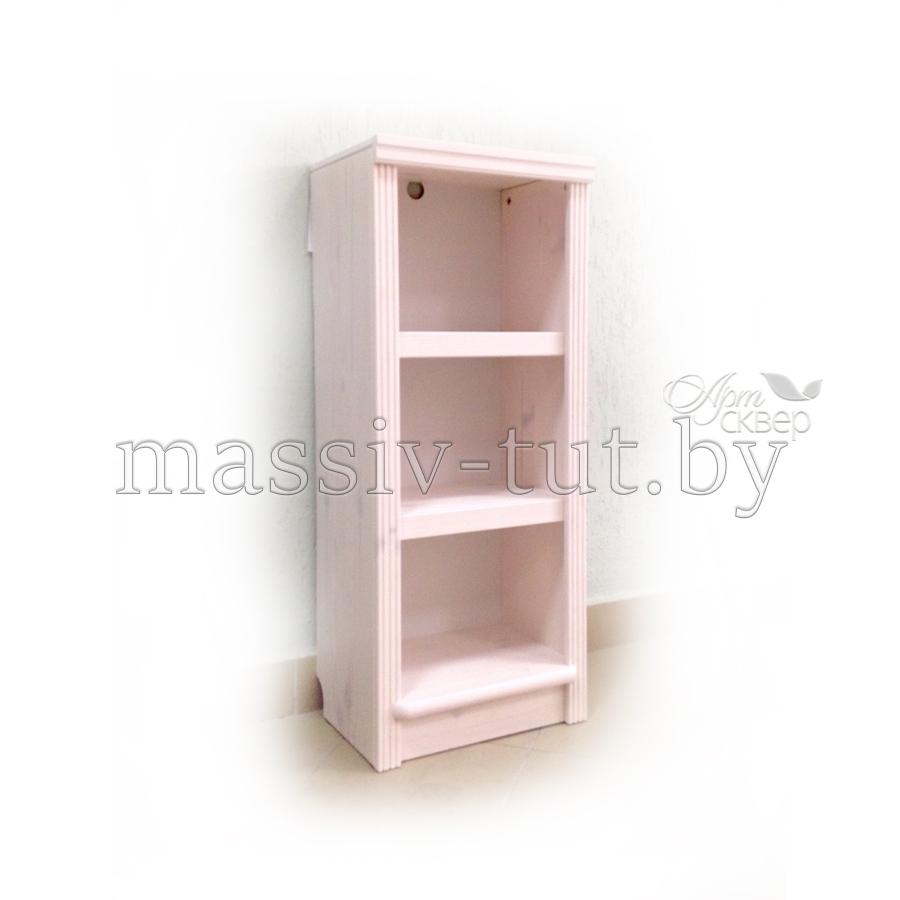 Стеллаж Д7178-4, АртСквер, массив сосны, мебель