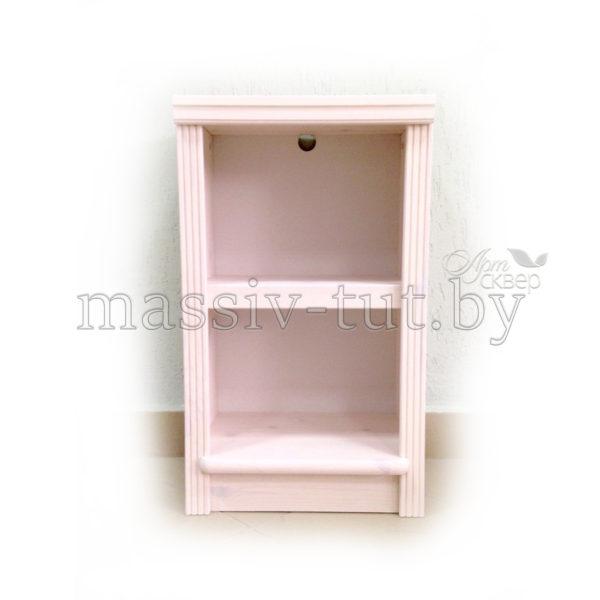 Стеллаж Д7178-5, АртСквер, массив сосны, мебель