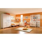 Стеллаж Мадейра Д3113, АртСквер, массив, мебель 2