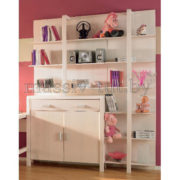 Стеллаж Мадейра Д3114, АртСквер, массив, мебель 1