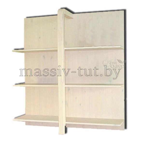 Стеллаж Мадейра Д3114, АртСквер, массив, мебель