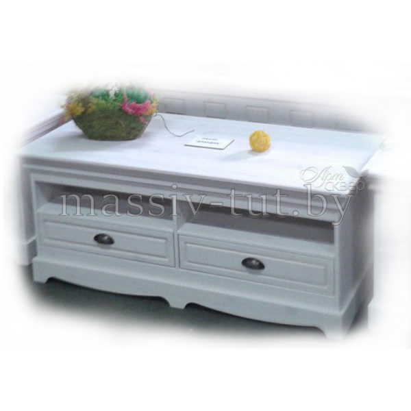 Тумба ТВ Клаудиа Д7112-12, АртСквер, массив, мебель