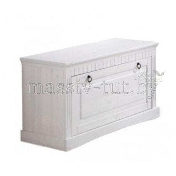 Тумба-скамья  Неаполь Д 7111-03, АртСквер, массив, мебель