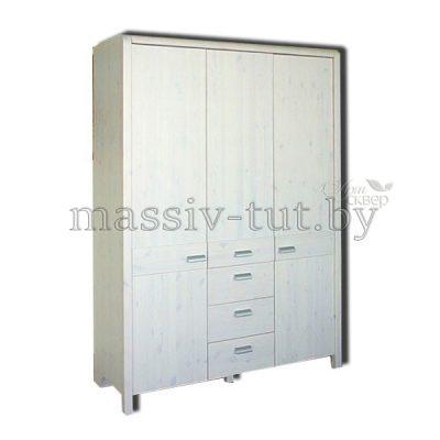 """Шкаф  3-хдверный """"Мадейра"""" Д6160 из массива сосны"""