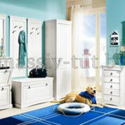 Шкаф  Неаполь Д 7111-04, АртСквер, массив, мебель 3