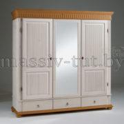 Шкаф Хельсинки 3SPM, SPGTM, АртСквер, массив, мебель 1