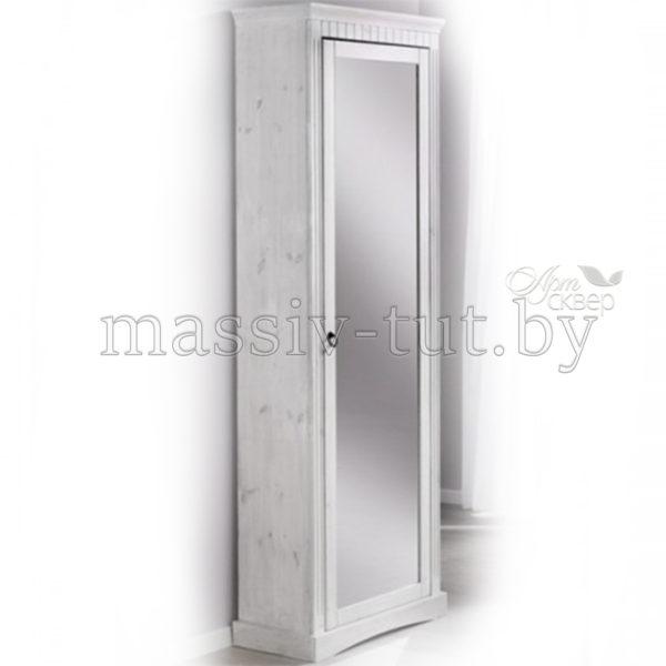 Шкаф для обуви  Неаполь Д 7111-05, АртСквер, массив, мебель